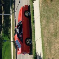 Looking to trade my GT t tops fox body mustang