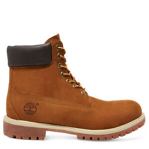 Timberland-Hombre-6-inch-Premium-Impermeable-Botas-72066-oxido-Nubuck