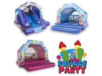 Bouncy Castle, Balloons, Face Painting & Party Hire
