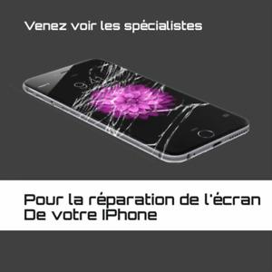 Réparation Écran iPhone 4,4s,5,5c,5s,6,SE,6s,6Plus,7,7Plus :)