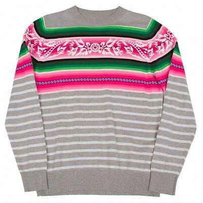 sacai Stripe Cotton Knit Sweaters Size 2(K-48976)