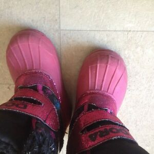 Dora Toddler Girl's boots Cambridge Kitchener Area image 3