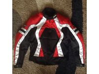 Rayven motorcycle jacket & motorcycle cover