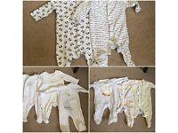 Neutral Baby Clothes Bundle