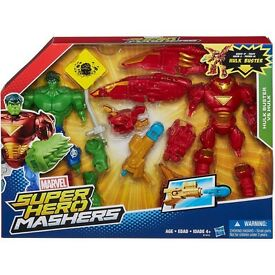 Marvel SUPER HERO MASHEMS Hulk. Twin pack NEW
