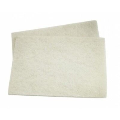 Genuine 3M Scotchbrite - White Light Duty Pad (Pack 10) + FREE...