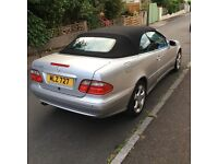 2002 CLK320 Final addition - with private plate and full MOT