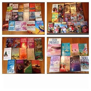 Lot of Romance and Fiction Books