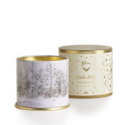 Illume Winter White Large Tin Candle 11.8 oz.