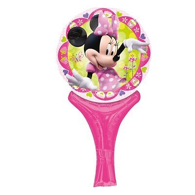 Mini Mouse Inflate a Fun Foil Hand Balloon Air Fill Birthday Party Bag - Mini Mouse Birthday
