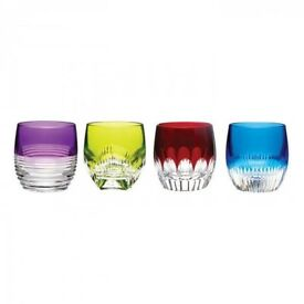 MIXOLOGY TUMBLER MIXED COLOURS (SET OF 4) 30% OFF