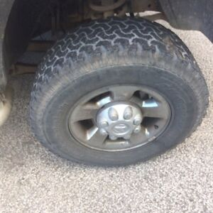 17 inch Aluminum 8 bolt Dodge rims