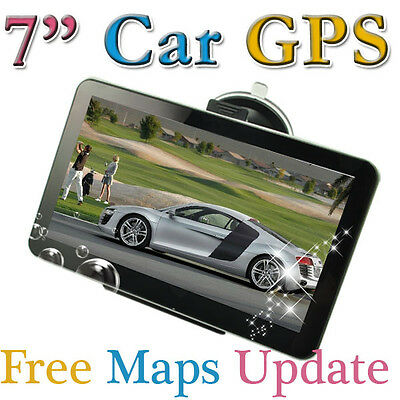 WinCE 6.0 + Flash 4GB 7 INCH HD Car  GPS Navigation 128RAM FM Mp3 Mp4 Free MAPs  on Rummage