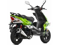 *Brand New* 66 plate Lexmoto Matador 125 Learner Scooter. Warranty. Free Delivery. 24-10