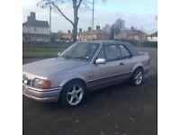 1989 escort xr3i convertible rare colour