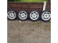 Smart car alloy wheels