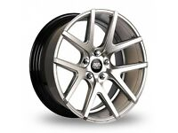 """19"""" Staggered AVA Rockford on tyres for an E90, E91, E92, E93 BMW 3 Series, Vauxhall Insignia ETC"""