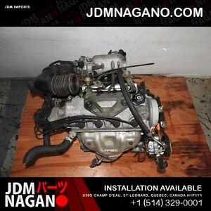 96-00 JDM HONDA CIVIC D16A VTEC LONGBLOCK ENGINE D16Y8 MOTOR OBD