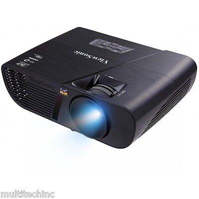 ViewSonic PJD5255 DLP Projector 3300 Lumens HDMI 3D Blu-Ray Ready Home Theater !