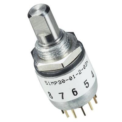 New M378635-033 Grayhill Switch Military Qualified Rotary Switch