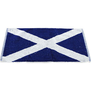 Scotland Flag Bar Towel Scottish Towels Home Pub Decor