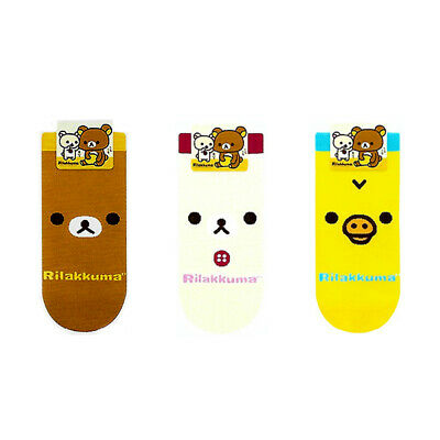 New 3 Pairs Funny Character Socks Girls Women Big Kids Casual Cute Cartoon Socks