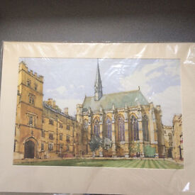 Exeter College Print - Oxford University