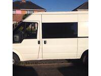 Ford transit camper conversion / surf / day van