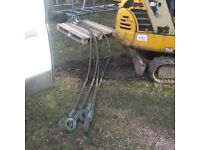 Container mobile office lifting wire ropes