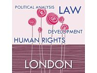 Tutor in International Human Rights Law and Development Studies.