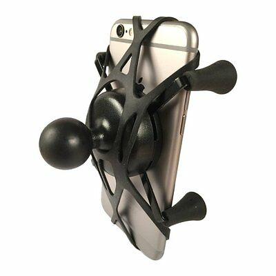Texel WebGrip with RAM Mount X-Grip Phone Cradle B-Ball 1 inch (Black)