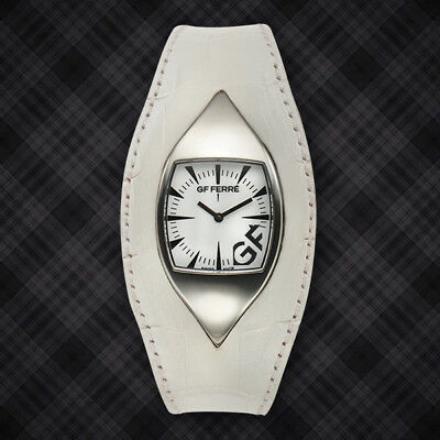 GF Ferre Swiss Made White Eyeball( UNISEX) Watch