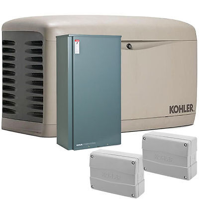Kohler 20kw Composite Home Standby Generator Bundle 200a Standard Ats W Loa...
