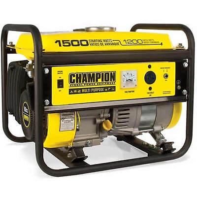 Champion 42436 - 1200 Watt Portable Generator
