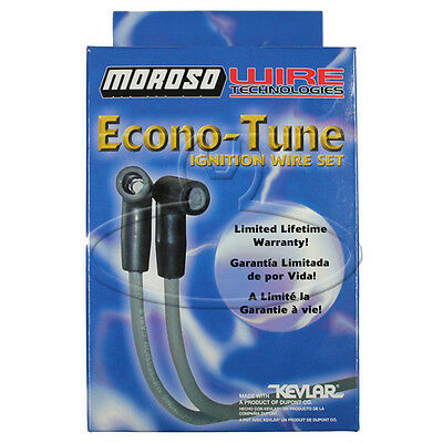 MADE IN USA Moroso Econo-Tune Spark Plug Wires Custom Fit Ignition Wire Set 8153