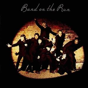 WINGS - BAND ON THE RUN - LP VINYL RECORD ALBUM