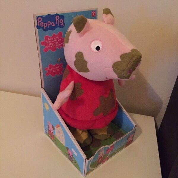 Peppa pig muddy puddles child's toy