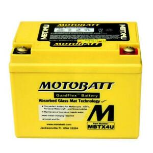 MotoBatt Battery For Kawasaki KL250 KLX110 KMX125 KMX200 Off Road Motorcycle