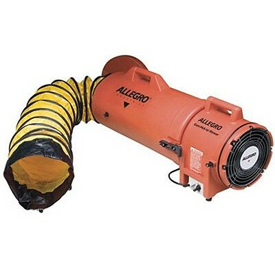 Allegro 8 Ac Com-pax-ial Manhole Ventilation Blower W 25 Duct 9533-25