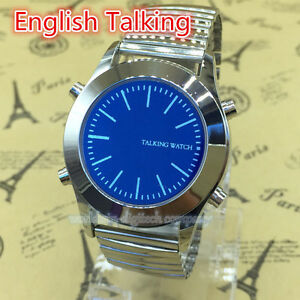Montre parlant anglais neuf