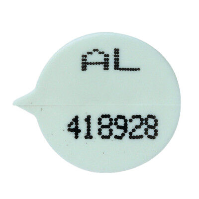 GoSecure White Numbered Security Seals (Pack of 500) WSealNO