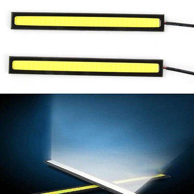 2x LED Super Helle 12V COB Auto Leuchten für DRL Nebelscheinwerfer Wasserdichte