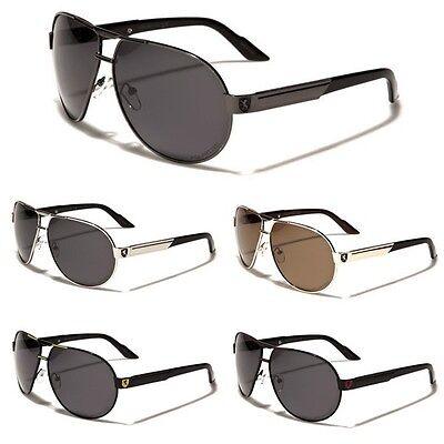 Polarized Men's Aviator's Black Gold Sunglasses Cheap Fishing Sport Khan (Inexpensive Polarized Sunglasses)