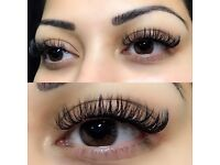 LUXURY EYELASH EXTENSIONS - (MINK/SILK/CASHMERE)