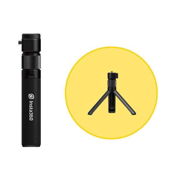 Insta360 Impugnatura Bullet Time Ergonomica con Treppiedi Integrato
