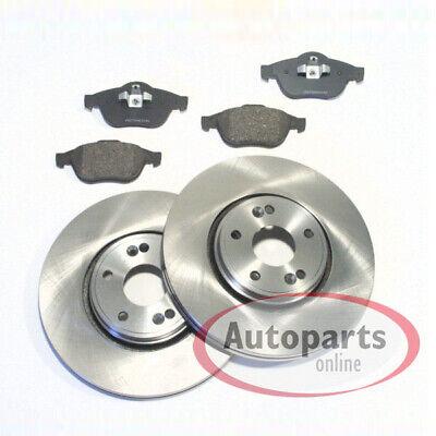 mit ABS Ring /& Radlagersatz Bremsensatz Hinten für RENAULT LAGUNA III