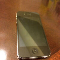IPHONE 4S 16GB (BELL,VIRGIN) GOOD CONDITION INCLUDING CHARGER