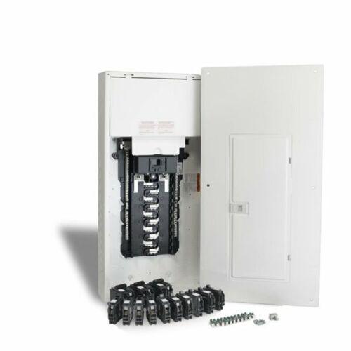SCHNEIDER ELECTRIC HOMELINE 40 CIRCUIT 200 AMP MAIN BREAKER LOAD CENTER BREAKERS