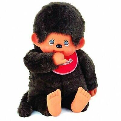 XXL-Junge Classic   80 cm   Monchhichi Puppe   mit originalem rotem Latz