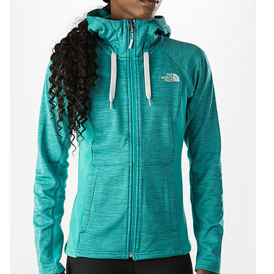 New Womens North Face Jacket Castle Crag Hoodie Coat XS Small Medium